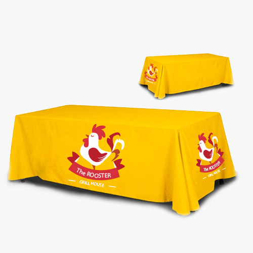 Regular 4 Sided Table Covers
