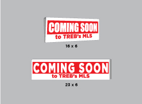 COMING SOON <br/>to TREB's MLS