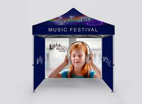Custom Canopy Tents 10' x 10'