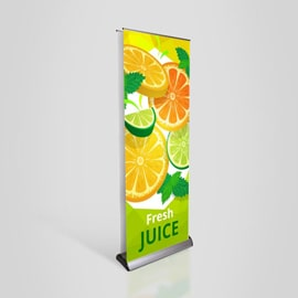 Double Sided Pull-Up Banners