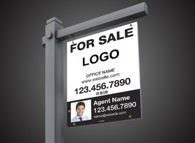 For Sale Signs Reflective