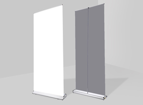 Luxury Pull-Up Banner Stands Hardware