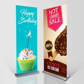 Luxury Stand Pull-Up Banners