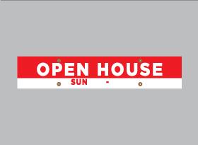 OPEN HOUSE SUN</br> (Flexible Time)