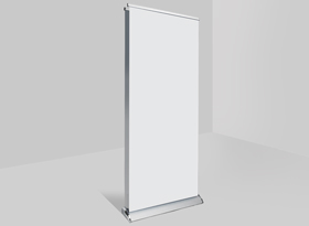 Premium Double Sided Pull-Up Stands Hardware