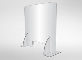 Acrylic 4.5mm Covid-19