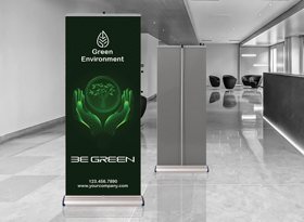 Super Smooth PET G Pull-up Banner Film