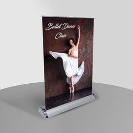 Table Top Mini Pull-Up Banners