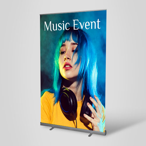 Wide Premium Stand Pull-Up Banners