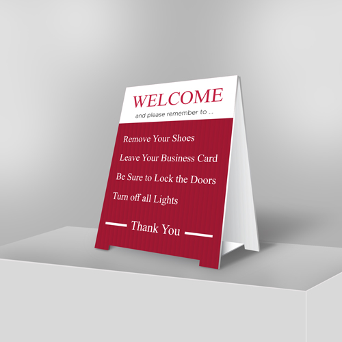 Coroplast A-Frame Signs-small