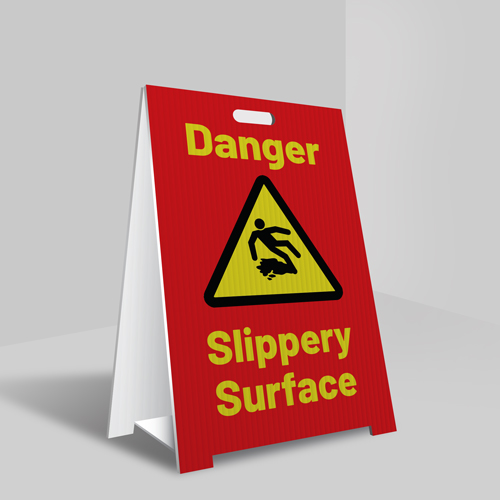 Coroplast A-Frame Signs